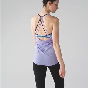 Lululemon | Lighten Up Tank Strappy Built in Bra 6
